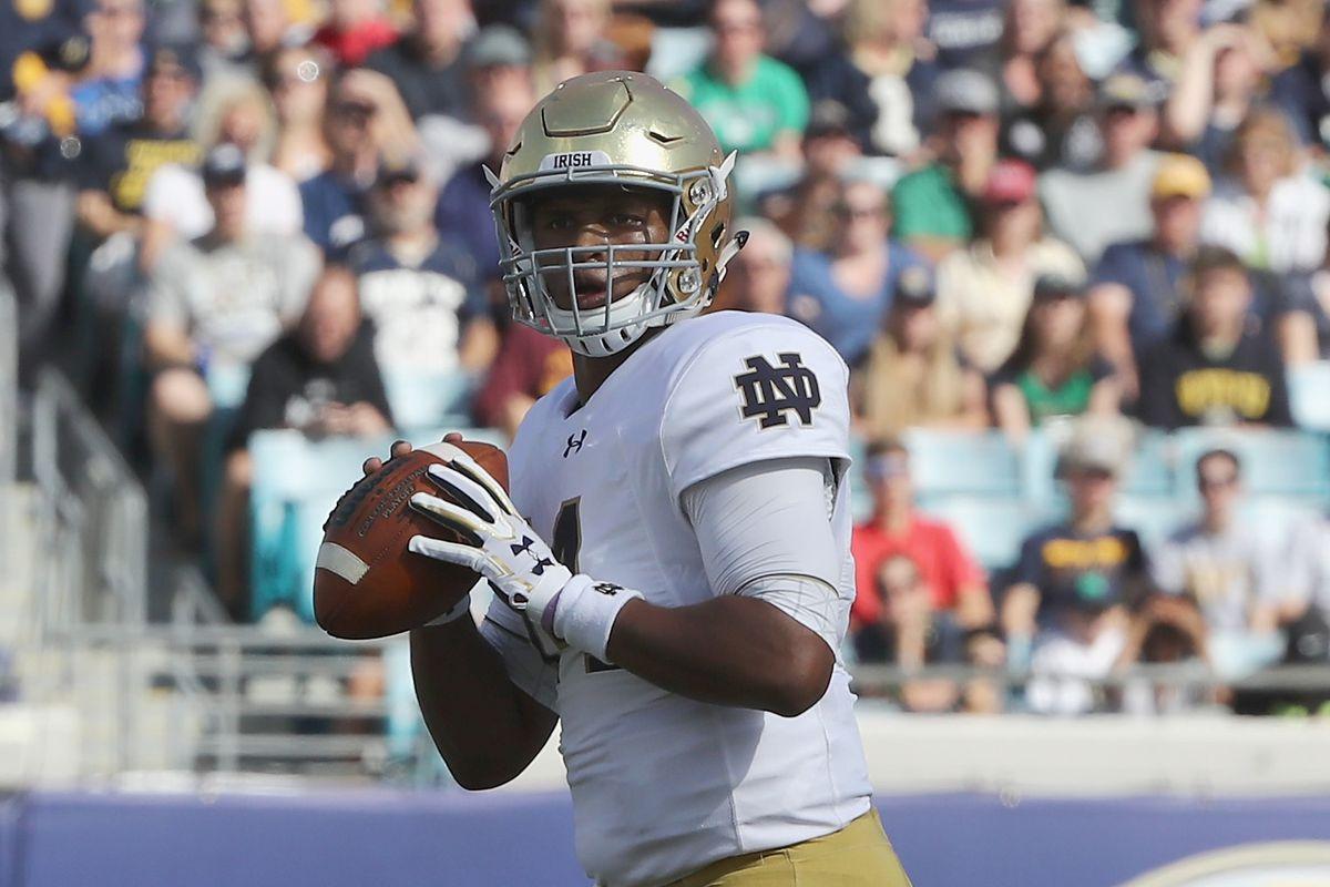 Buffalo Bills worked out Notre Dame QB DeShone Kizer