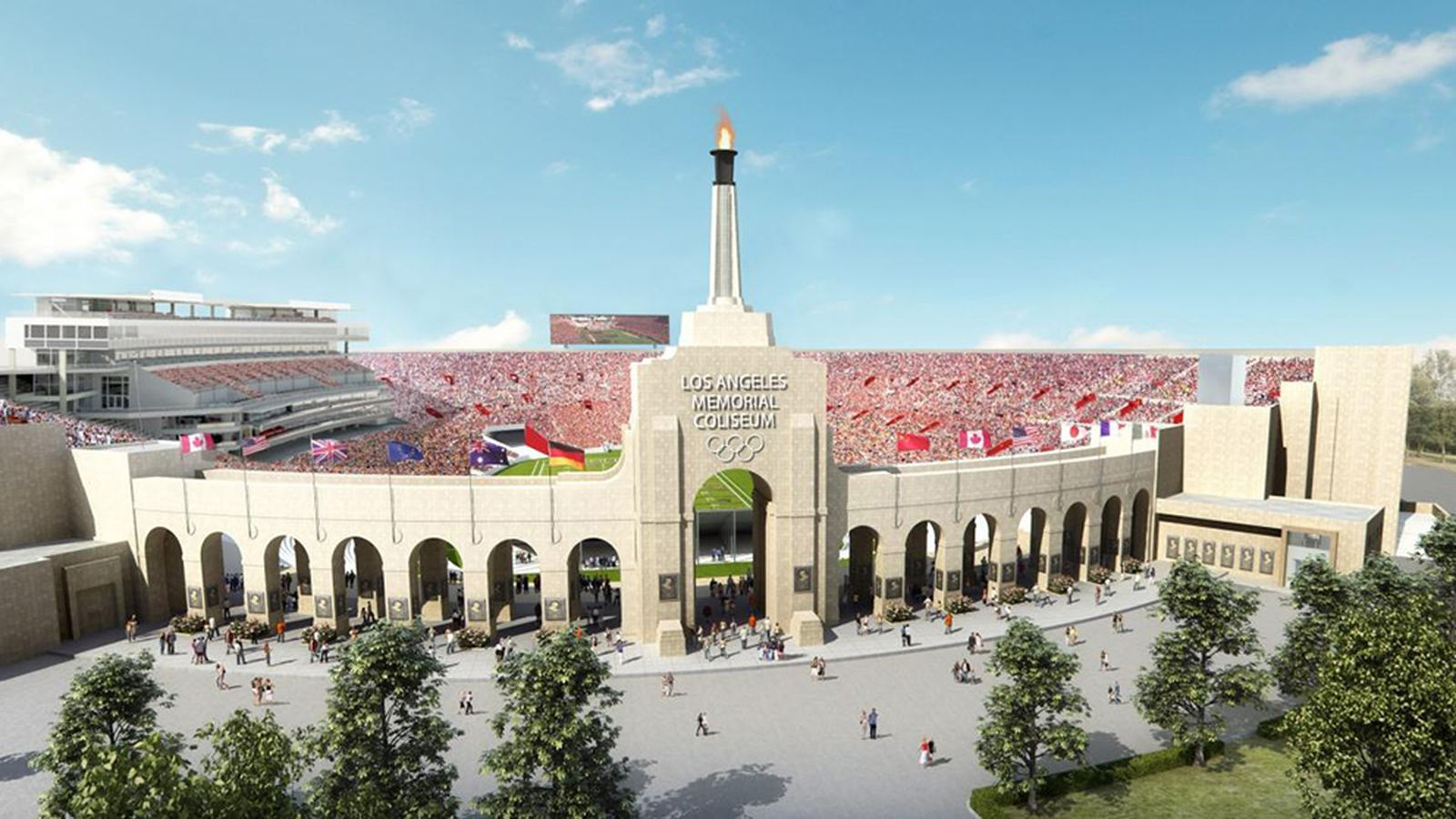USC Wants to Give the Coliseum a $270-Million Restoration ...