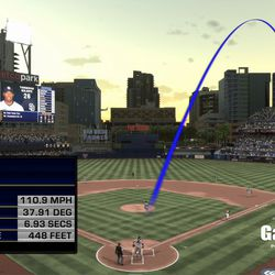 <em>MLB 17</em>'s ShowTrack follows this ball that was crushed into the second deck.