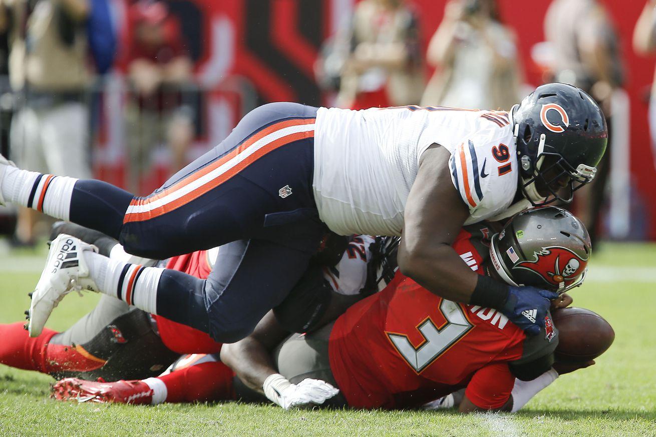 NFL Jerseys Outlet - Bears vs Buccaneers final score: Chicago Bears get first win of ...