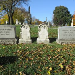 Walter Kinzie's family