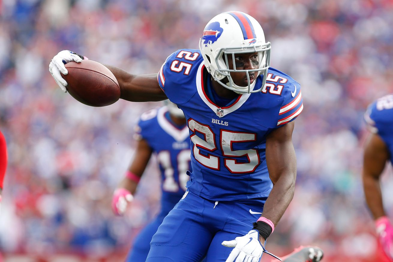 LeSean McCoy (hamstring) to miss Sunday's game at Miami, per ESPN report