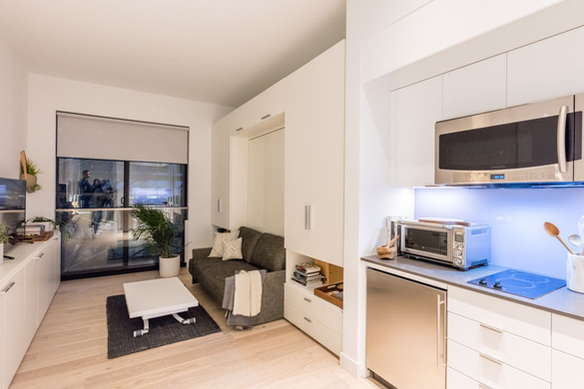 Inside The Surprisingly Spacious Model Unit At Nyc 39 S First