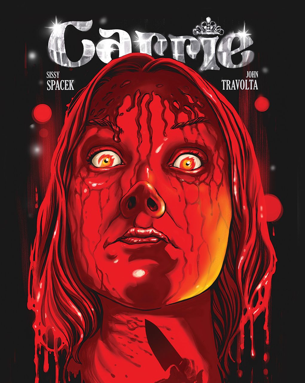 check out this gorgeous limited edition art for 13 classic horror carrie 1976 by ghoulish gary pulin