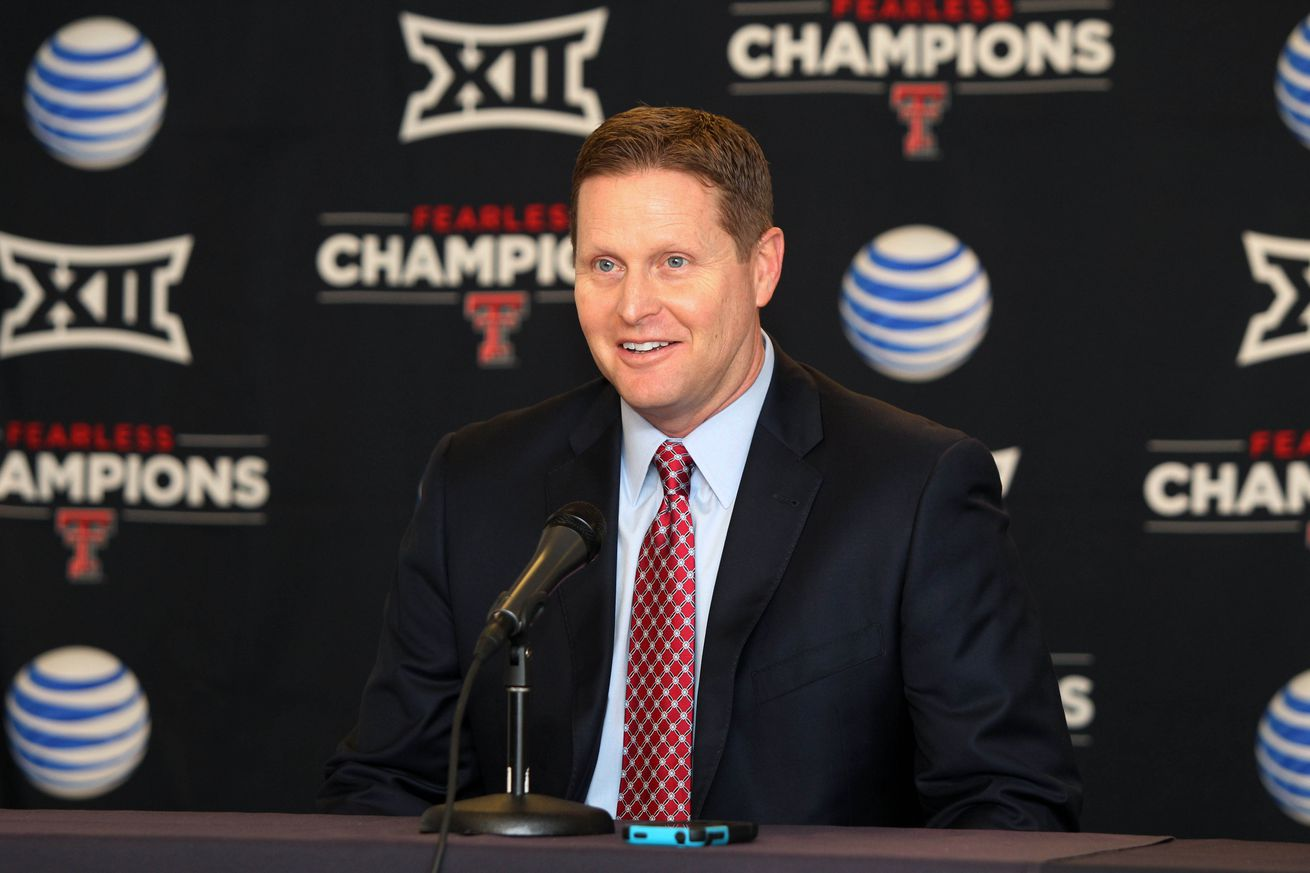 Chris Beard says he bolted UNLV to come 'home' to Texas Tech