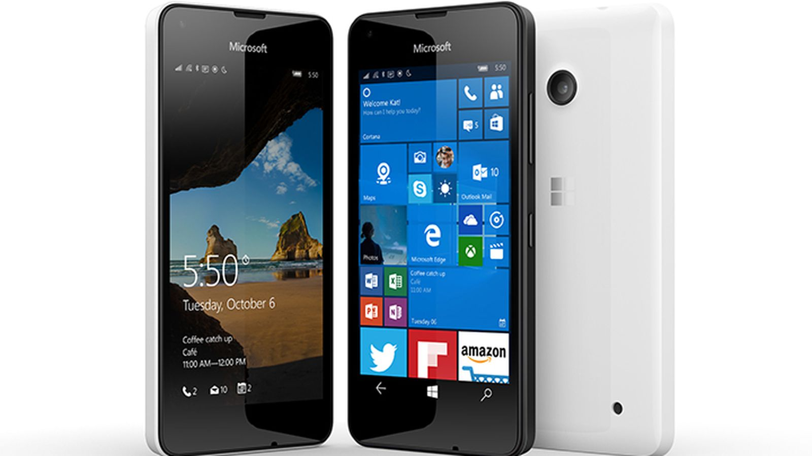 Microsoft 39 s new lumia 550 announced at 139 the verge for Latest microsoft windows