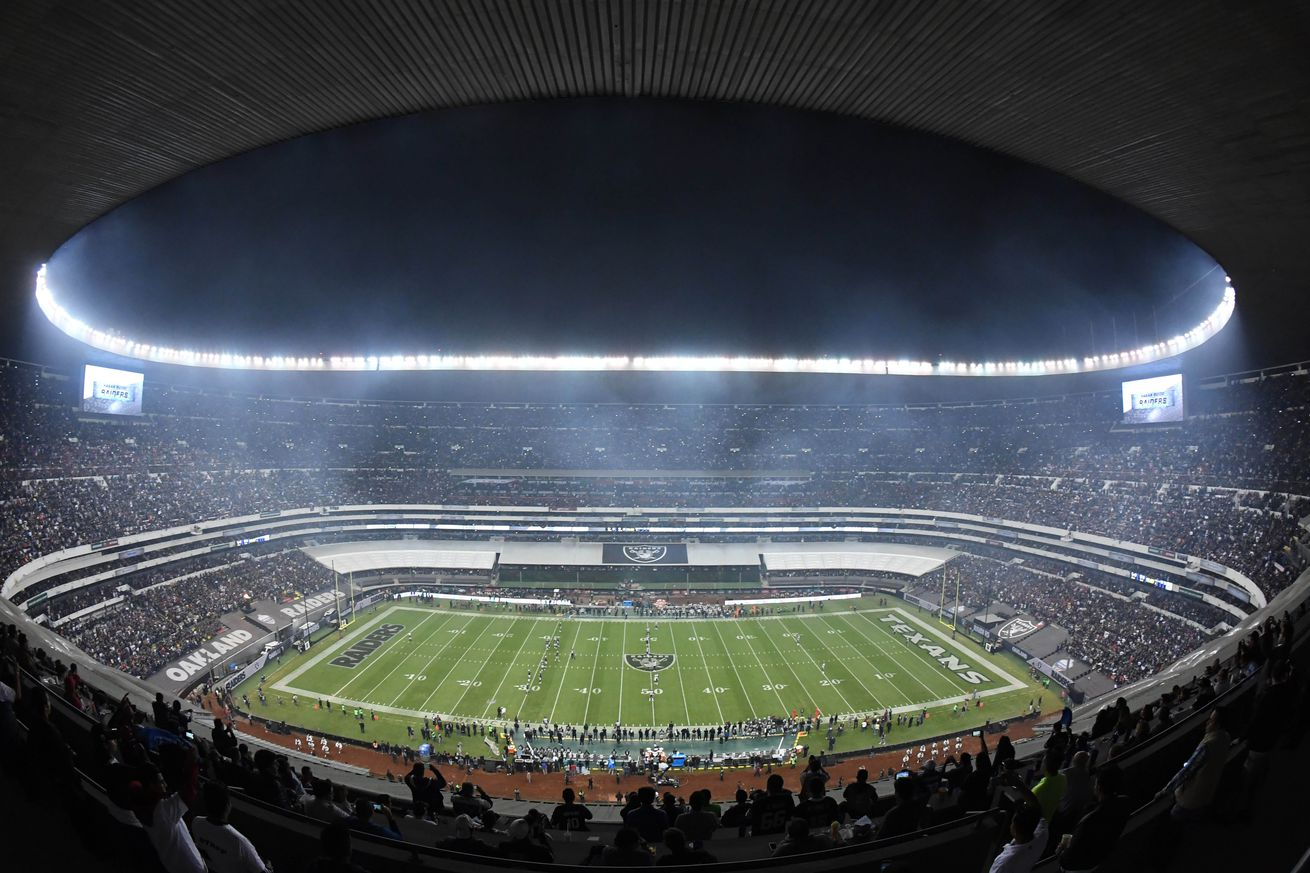 Raiders Mexico City game generated $45 million