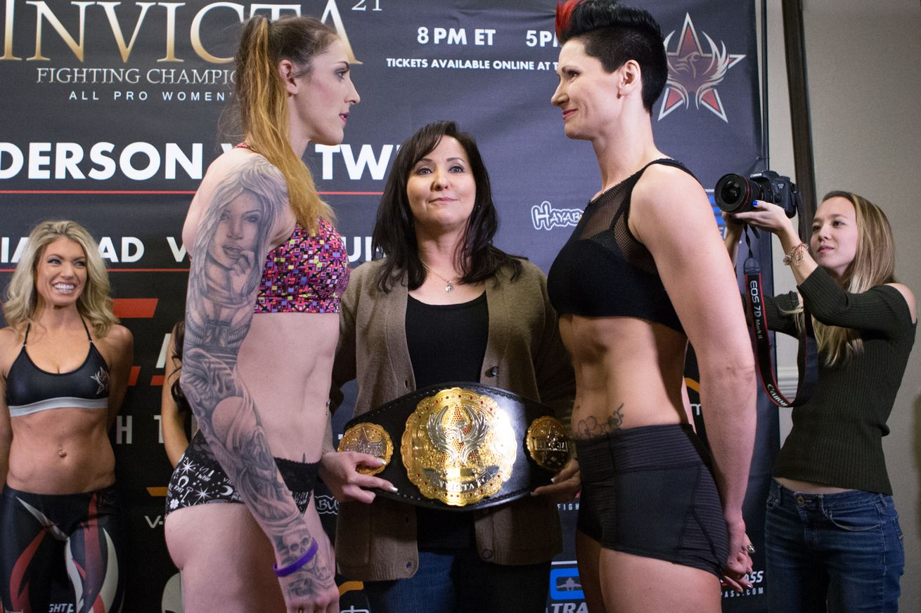 community news, Invicta FC 21 results: Anderson vs. Tweet