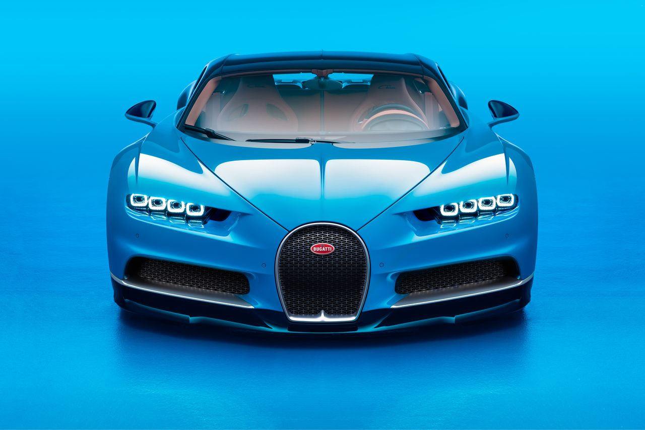 Bugatti's Chiron is the beastl...