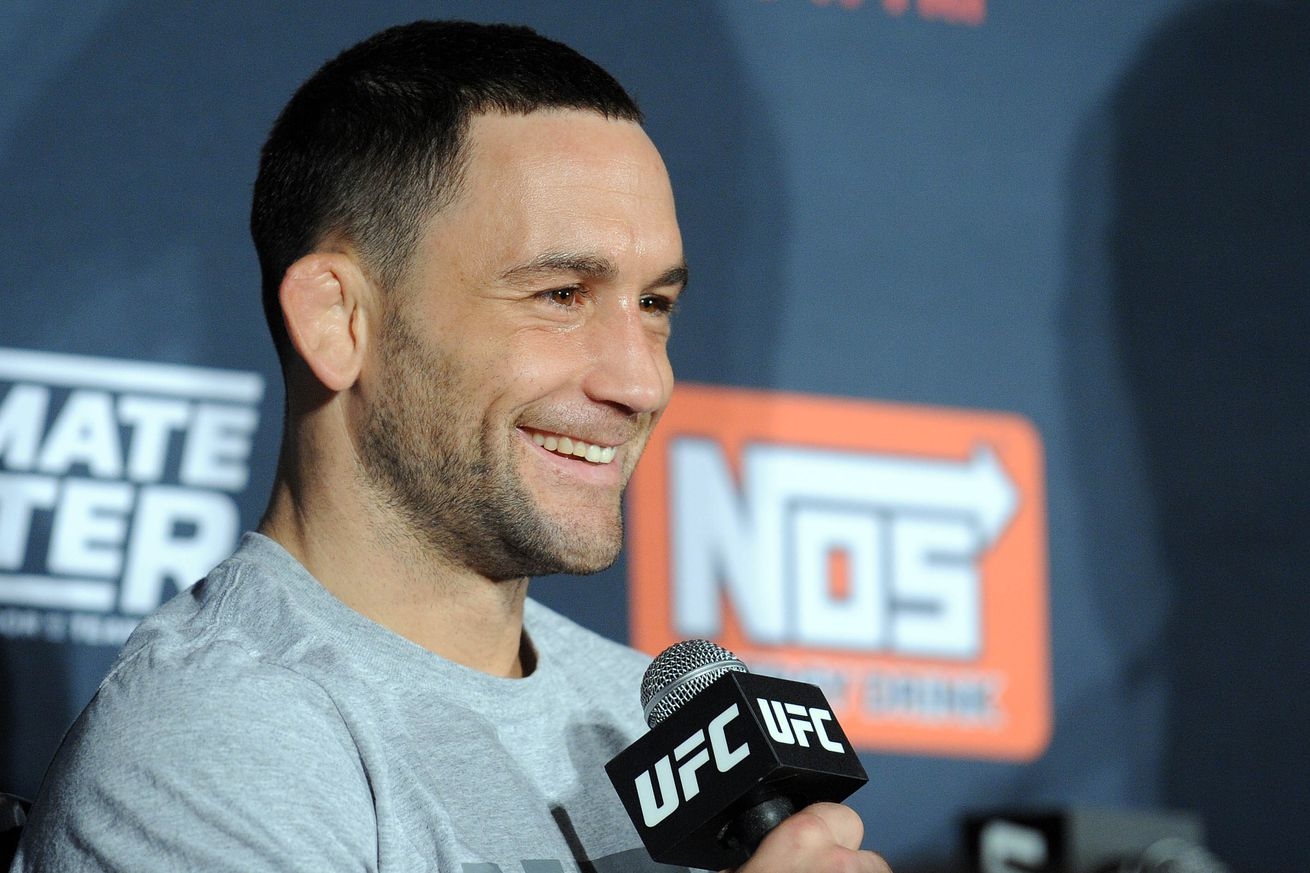 Video: Frankie Edgar hurt his d  k (but its okay) following successful groin surgery