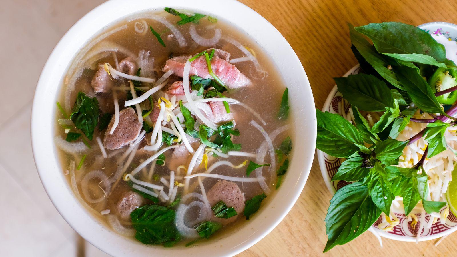 Pho Vietnam Kitchen Menu