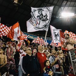 One way or another, everyone's headed to the same place: Red Bull Arena