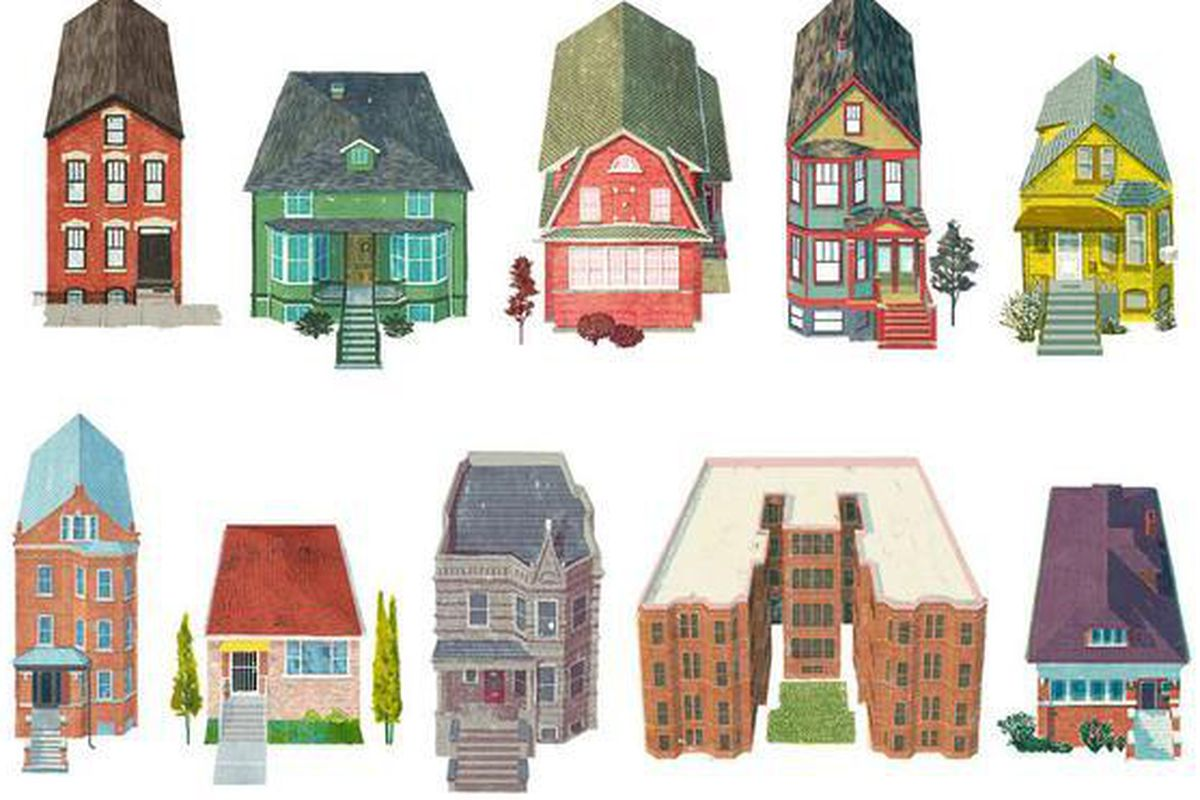 The chicago houses series from also design