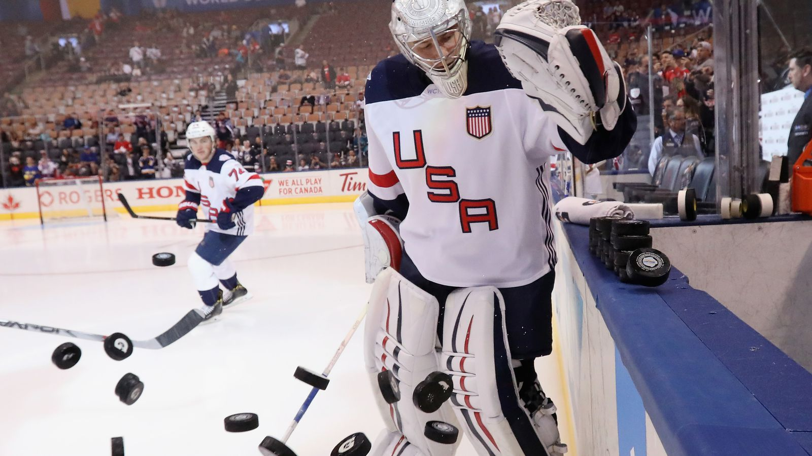 US men's hockey team will stand with women in World Championship boycott, per report