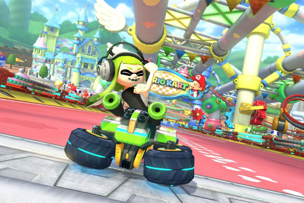 Mario Kart Update Removes Offensive Gesture