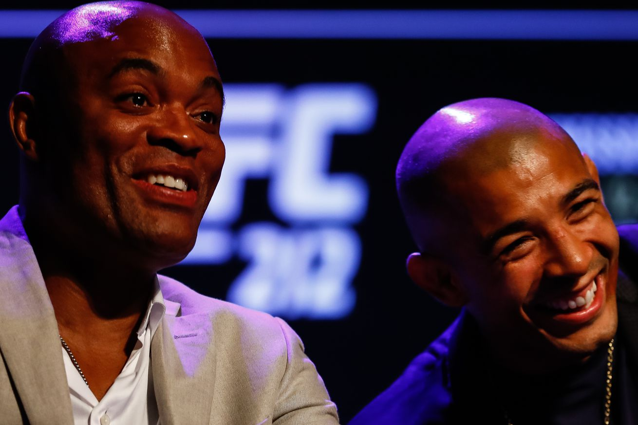 Anderson Silva still hopeful for boxing match with Roy Jones Jr., while Jose Aldo volunteers to face Miguel Cotto