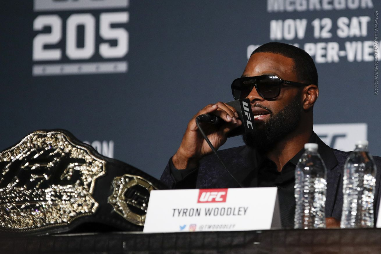 Tyron Woodley believes he's the 'worst treated champion' in UFC history