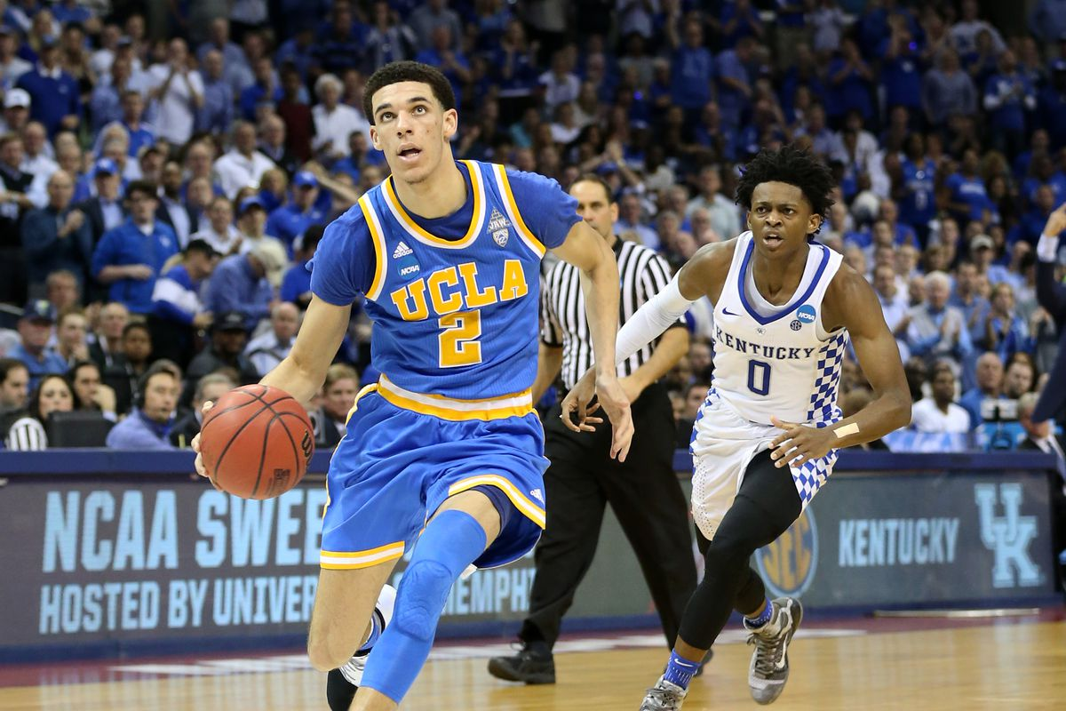 Lakers 'enamored' with Lonzo Ball, would need lottery luck to get him