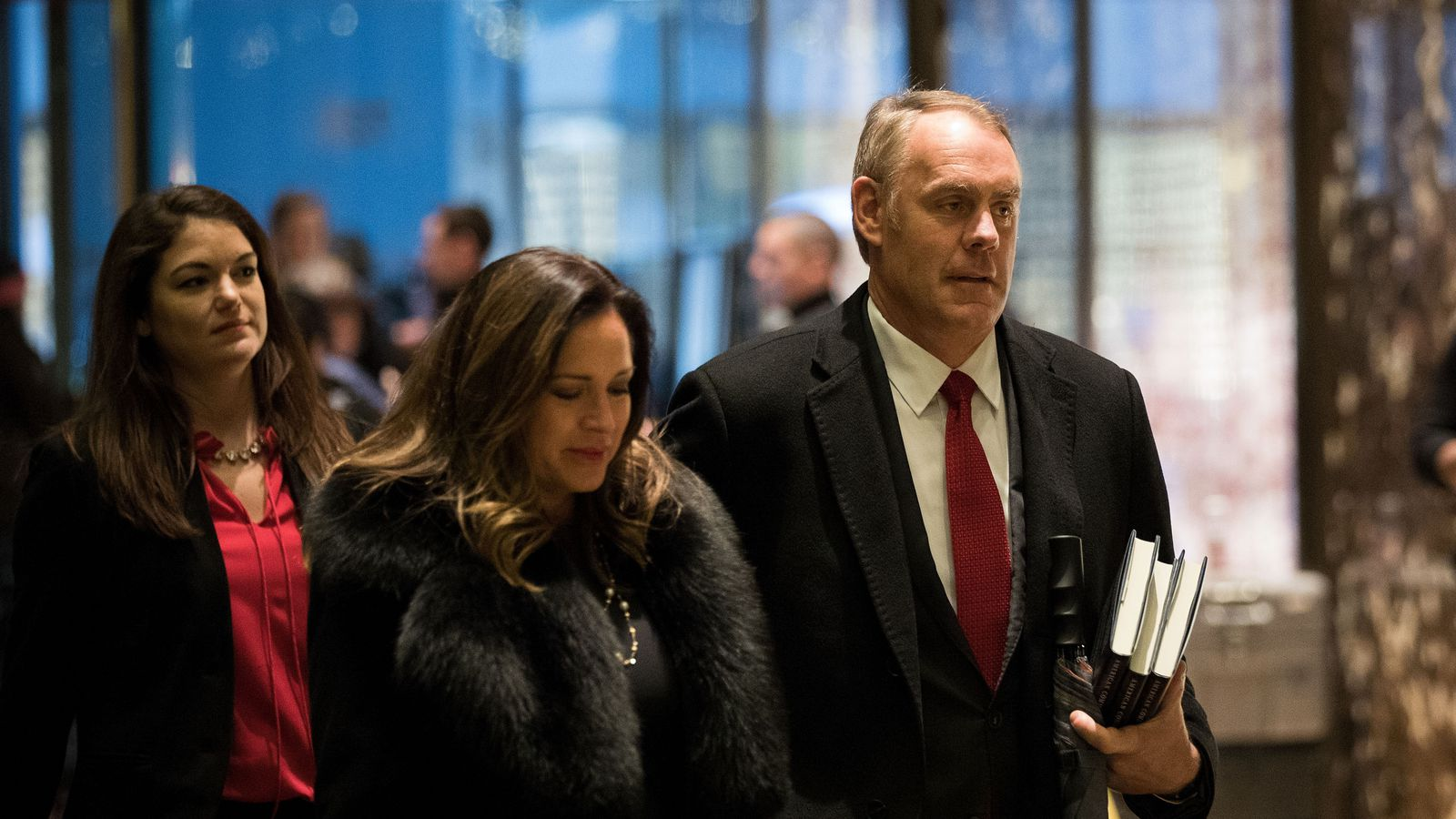 Trump Picks Representative Ryan Zinke For Secretary Of The Interior The Verge