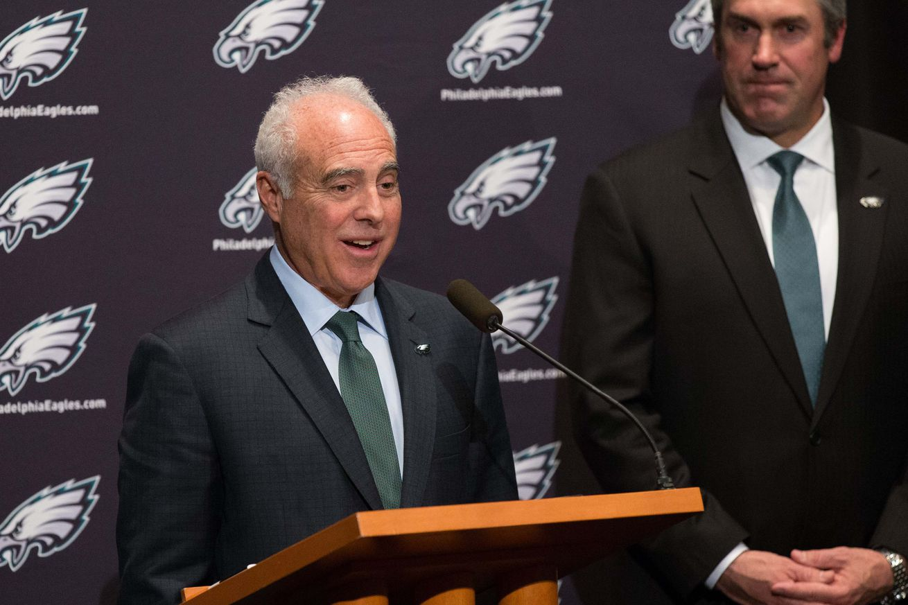 NFL Jerseys Online - Jeffrey Lurie reportedly pushed hard for Eagles to re-sign Sam ...