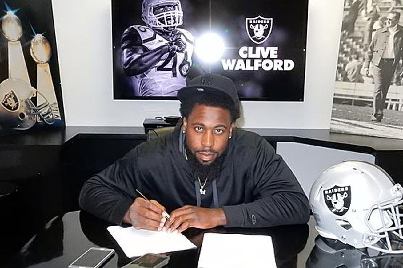 Raiders sign third round pick TE Clive Walford to 4-year deal ...