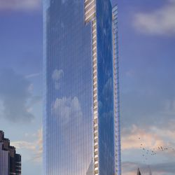One of the new renderings for No2 Opus Place.
