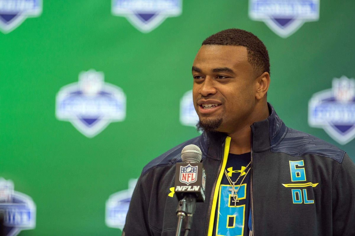 Ex-Florida DT Caleb Brantley charged with misdemeanor battery