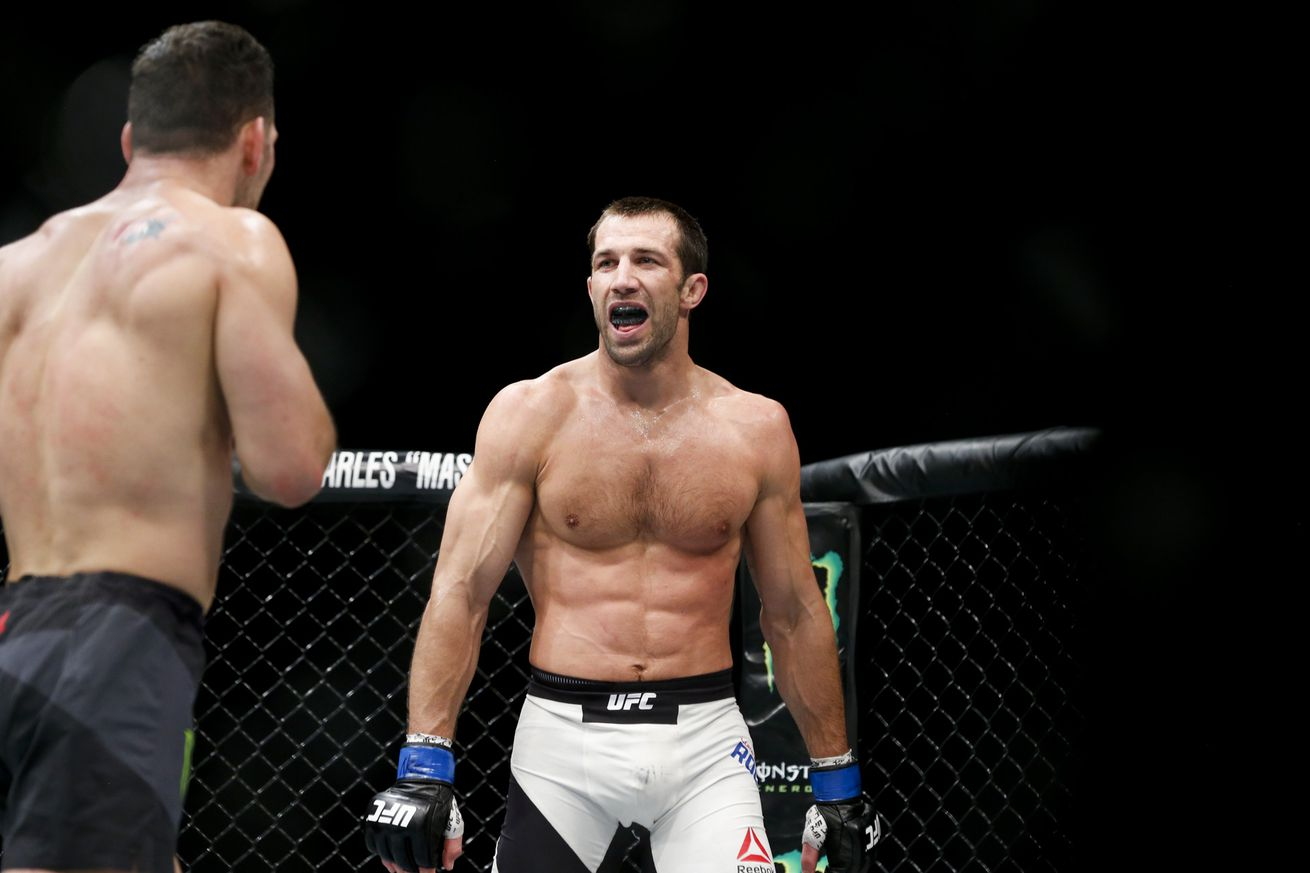 Luke Rockhold says Chris Weidman might have been easier foe than Michael Bisping