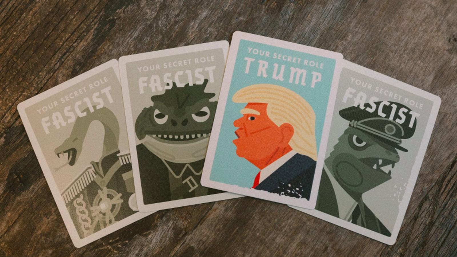 Secret Hitler S Gen Con Exclusive Is A Trump Fascist Card