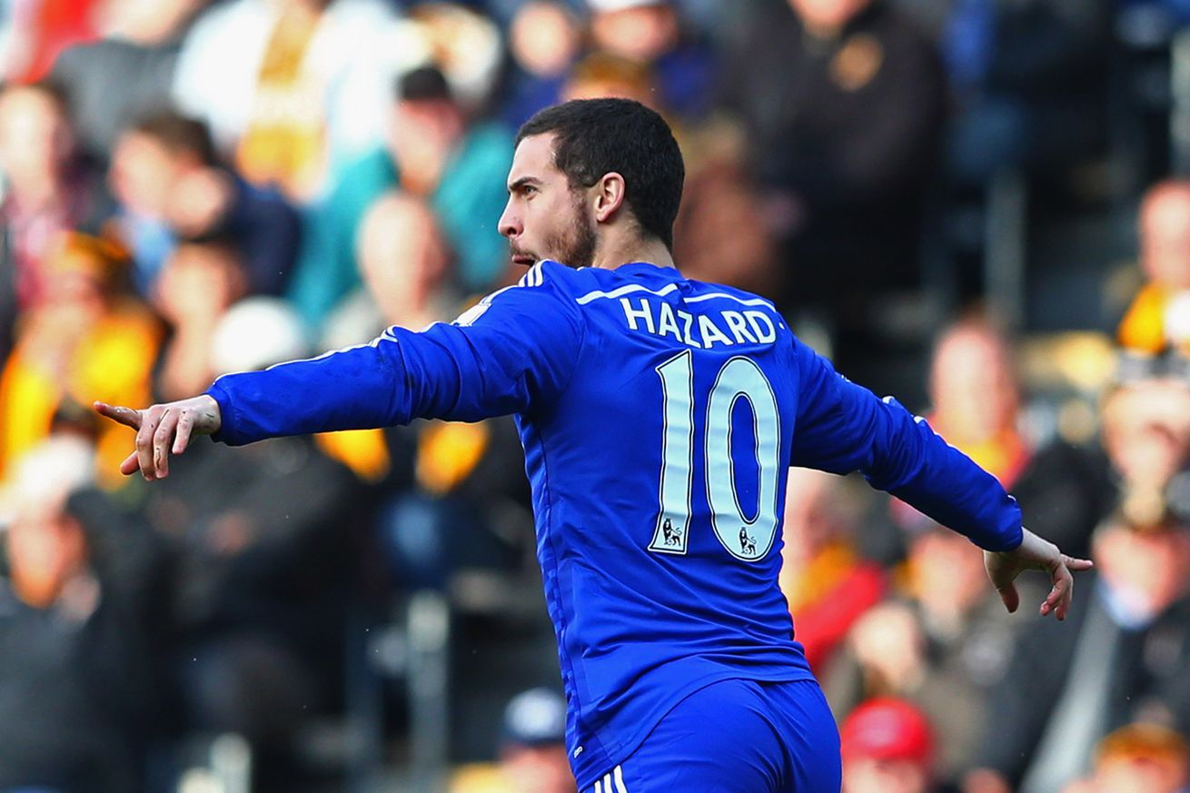Hazard Chelsea Eden Hazard mak...