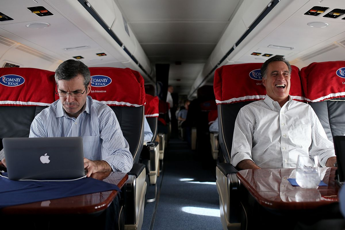 mitt romney s campaign tweets had to be approved by different romney and spokesperson kevin madden during the 2012 campaign justin sullivan getty
