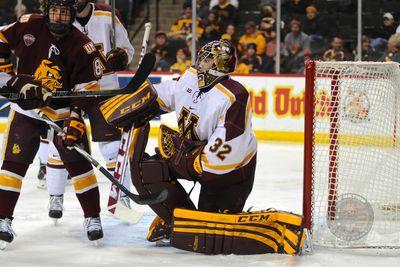 BIG10: 2015 Conference Hockey Championship - Minnesota-Michigan Pregame Notes & Line Combinations