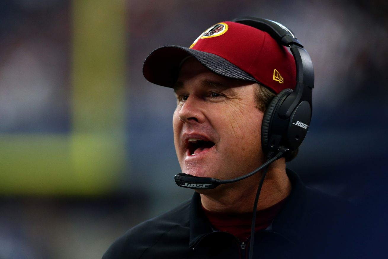 Jay Gruden talks about McCloughan, Cousins, the Redskins draft and free agency