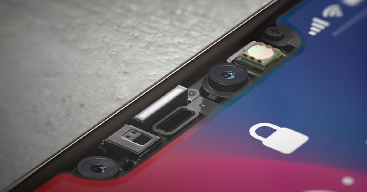 The iPhone X's notch is basically a Kinect