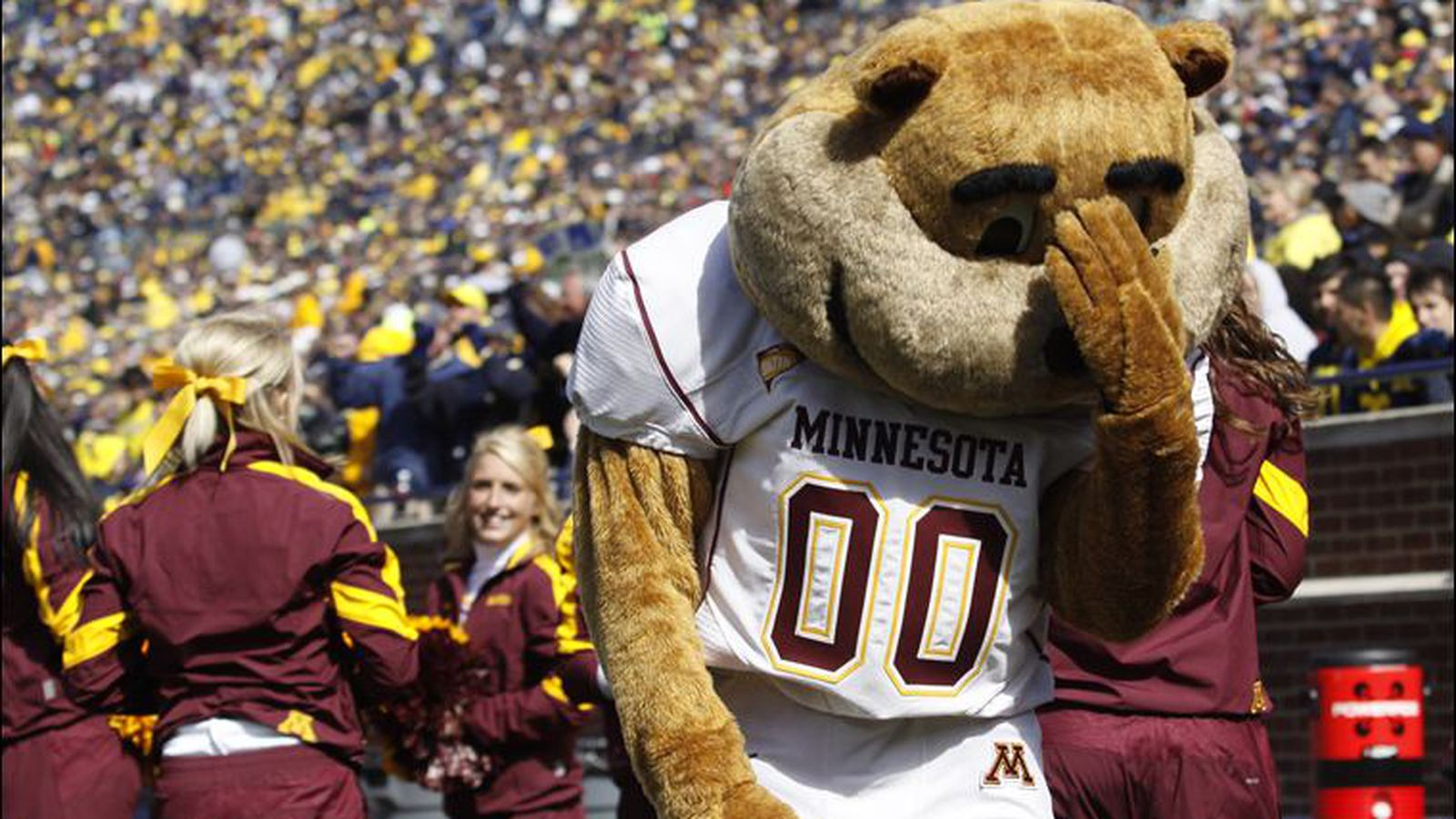 Image result for golden gopher crying
