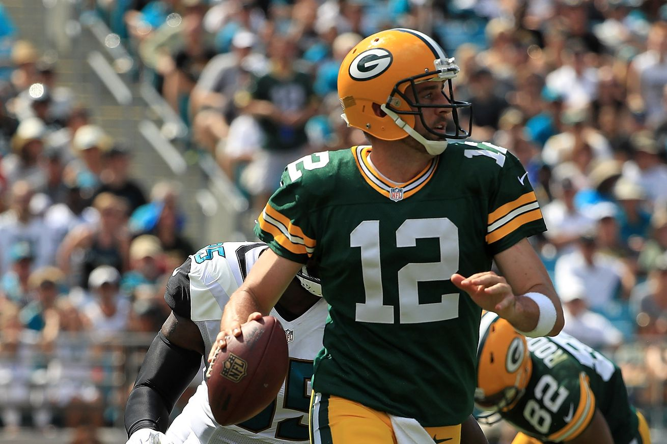 Jaguars pass rush will still be Achilles heel, but Aaron Rodgers was difference