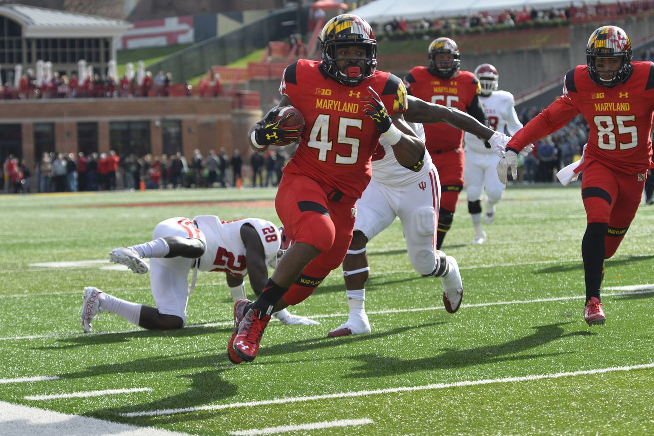 Jerseys NFL Cheap - Maryland football's Brandon Ross had a career performance on ...