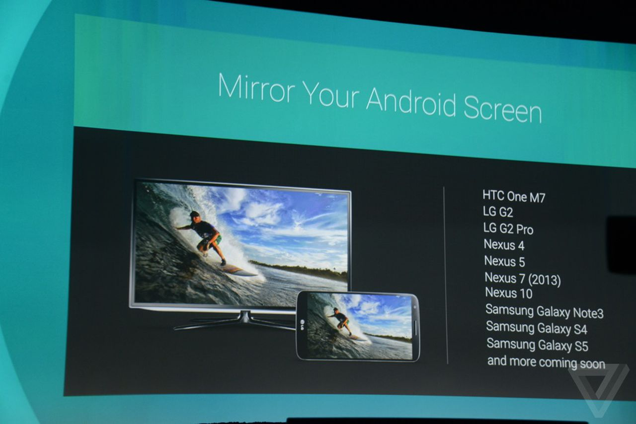 Chromecasts will soon be able to mirror your android phone for Mirror your phone
