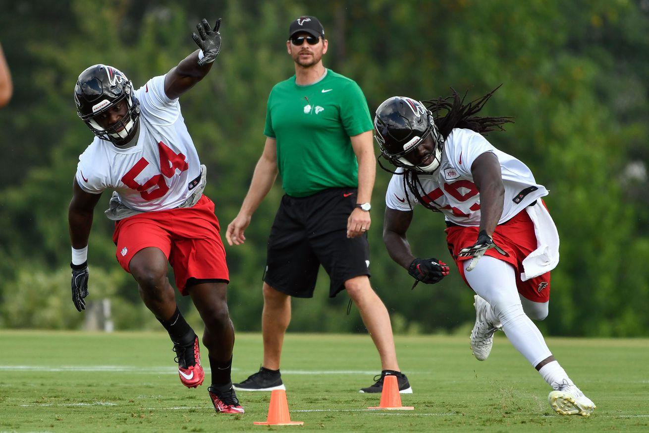 NFL Jerseys - Falcons Friday Night Lights: The youth movement shone - The Falcoholic