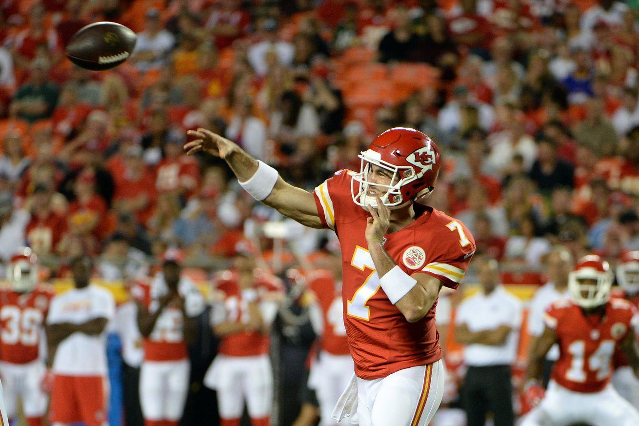 Eagles sign quarterback Aaron Murray