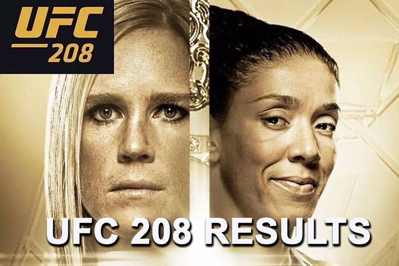community news, UFC 208 live results stream, 'Holm vs De Randamie' play by play updates