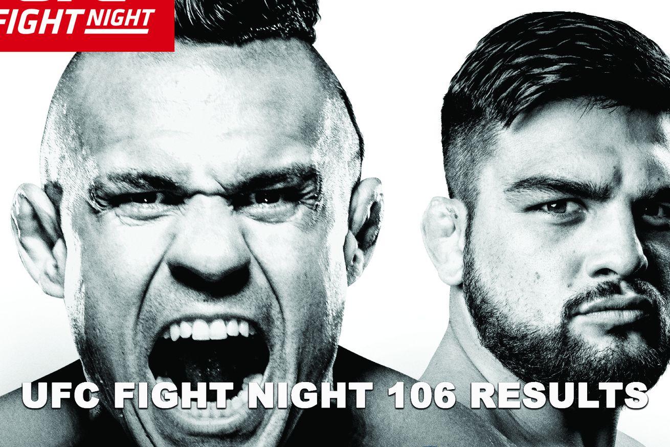 community news, UFC Fight Night 106 live results stream, Belfort vs Gastelum play by play updates