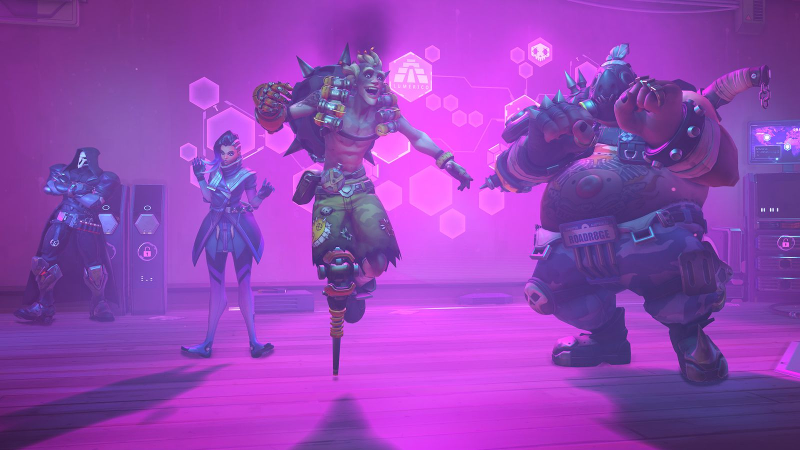 Watch every Overwatch dance emote in action — and learn what they're referencing