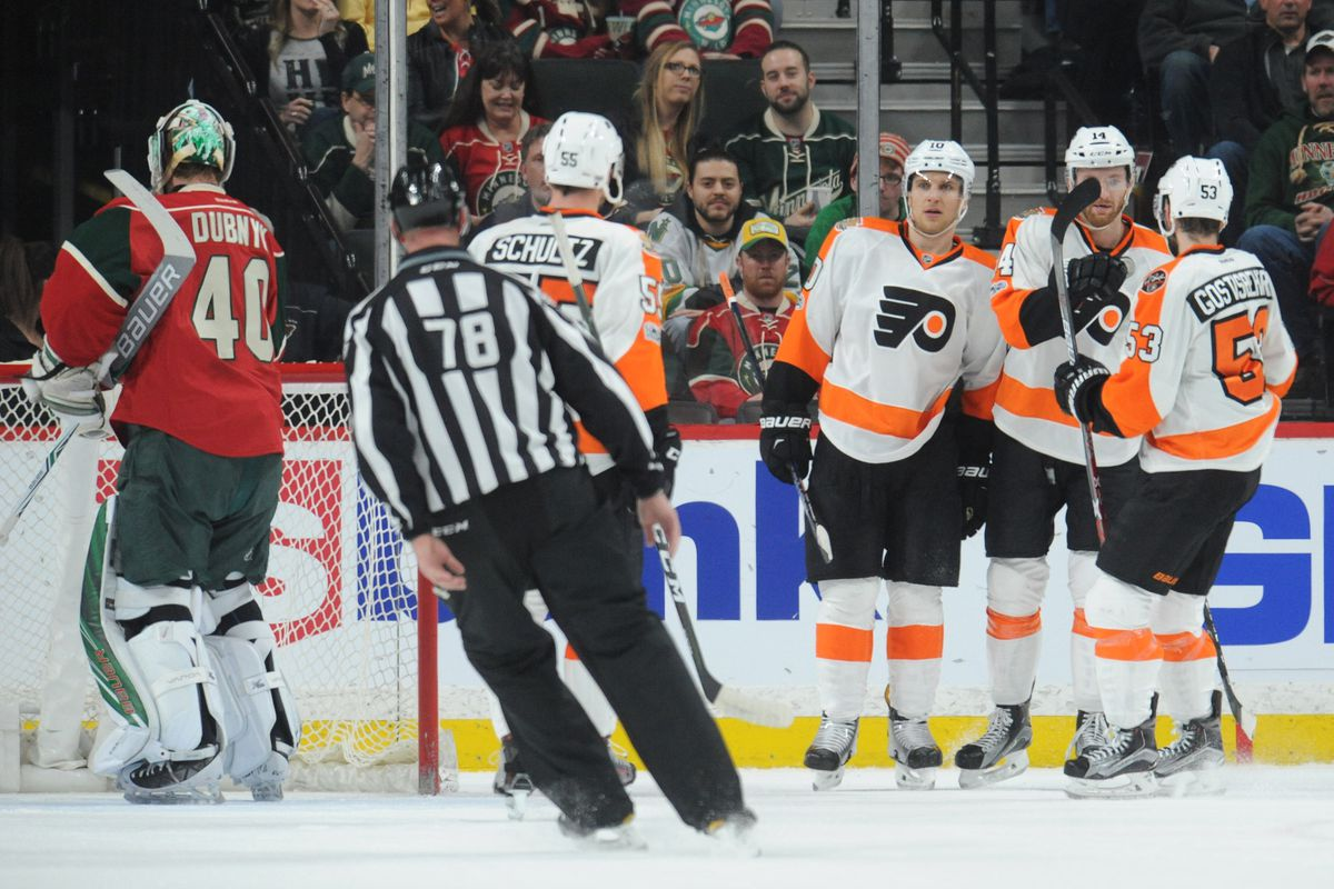 Flyers keep Wild in check as Minnesota woes continue