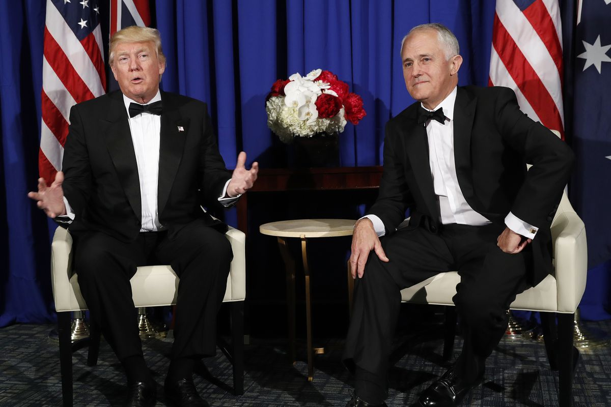 Trump, Turnbull in healthcare controversy