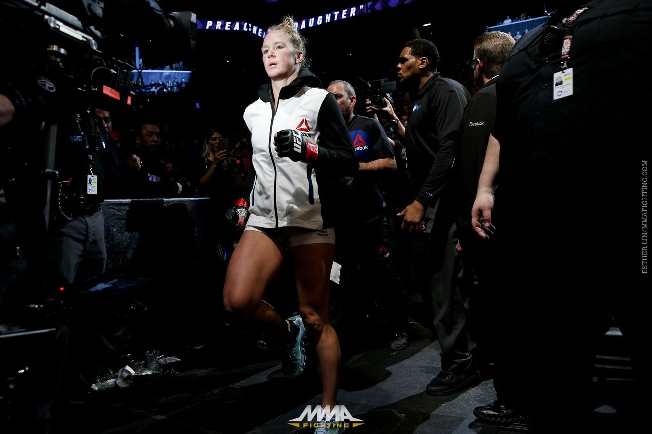 Holly Holm vs. Bethe Correia targeted for UFC Fight Night 111 main event in Singapore