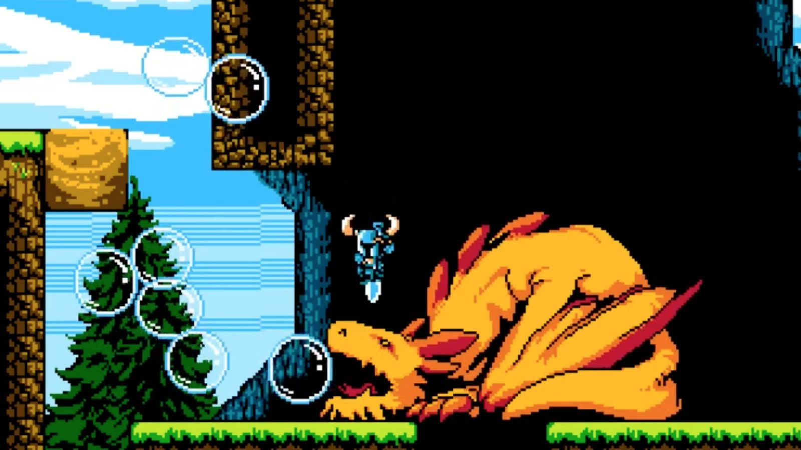 Crowdfunding Platforms Shovel Knight Gameplay Video Bouncing Through The First