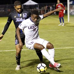 Tulsa Golden Hurricane vs UConn Huskies men's soccer