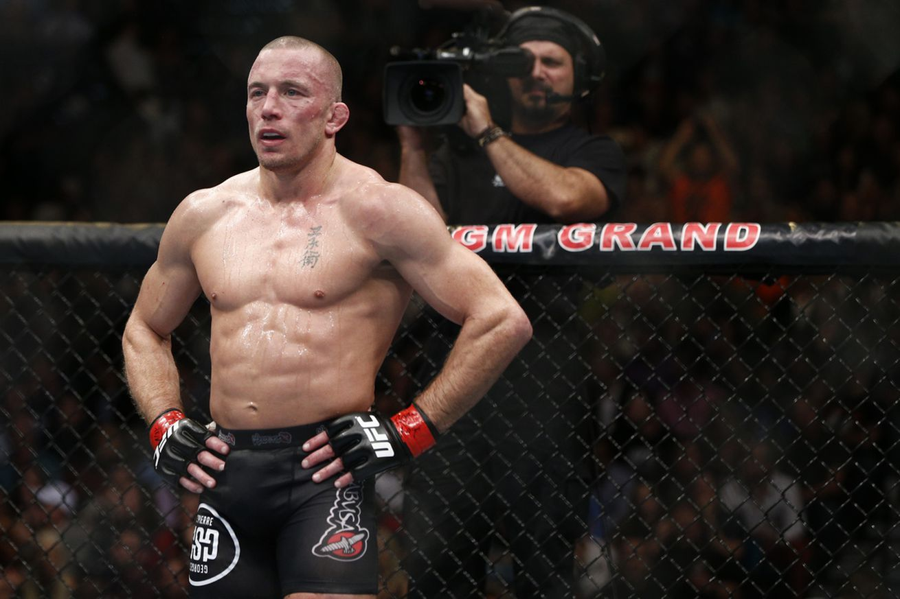 community news, Georges St Pierre's return is timely, and full of questions