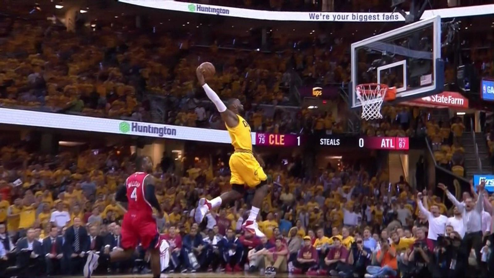This Lebron James Dunk Should Be Framed And Hung Up All